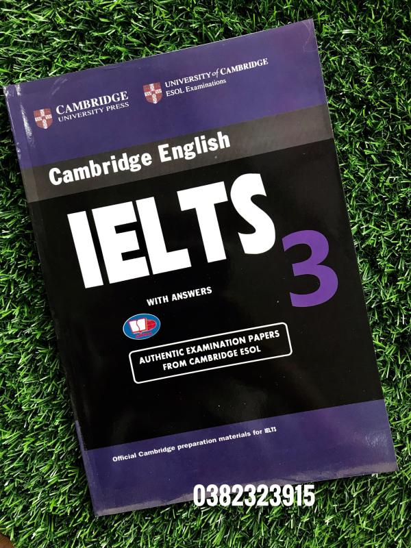 Sách Cambridge English IELTS 3 with answer