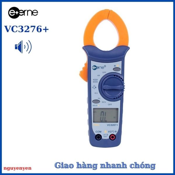 Ampe Kìm VC3267+ Kẹp Dòng Đo Dòng Ampe kèm bộ que đo và bao da