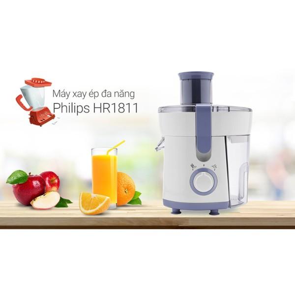 Máy Ép Trái Cây Philips HR1811 Bảo Hành 12 tháng