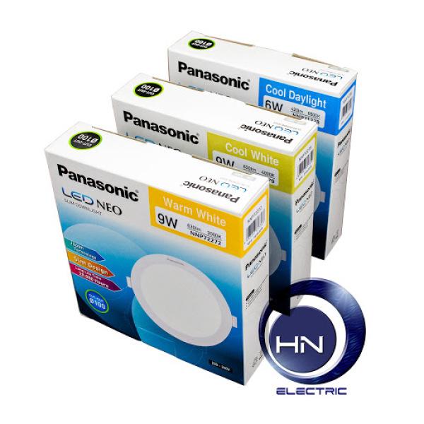 LED Neo Slim Downlight NNP72272 vàng  / NNP72279 trung tính/ NNP72278 trắng