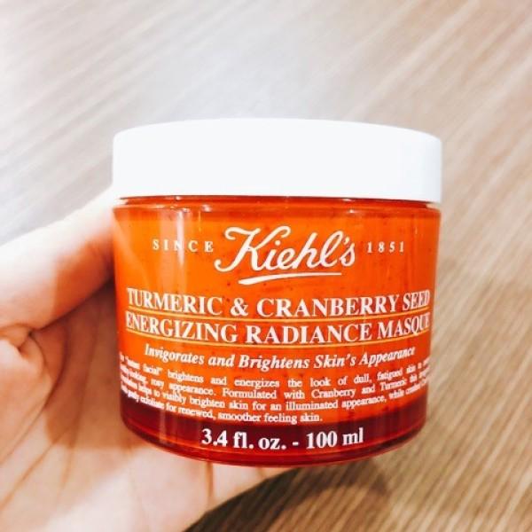[Fullsize 100ML] Mặt Nạ Nghệ Kiehls Tumeric& Cranberry Seed Energizing Randiance MasqueFu