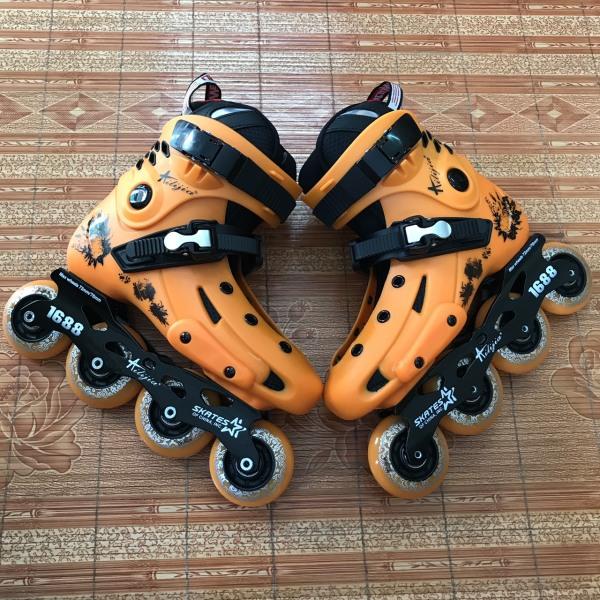 Phân phối Giày trượt patin người lớn Ailijia thanh lý lẻ size giá rẻ, kiểu dáng thời trang khung càng chắc chắn bánh cao su trượt mượt êm [TOMTIN SPORT]