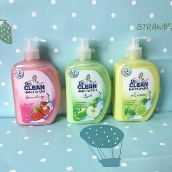 Nước rửa tay dr.clean 500ml mẫu mới giá rẻ