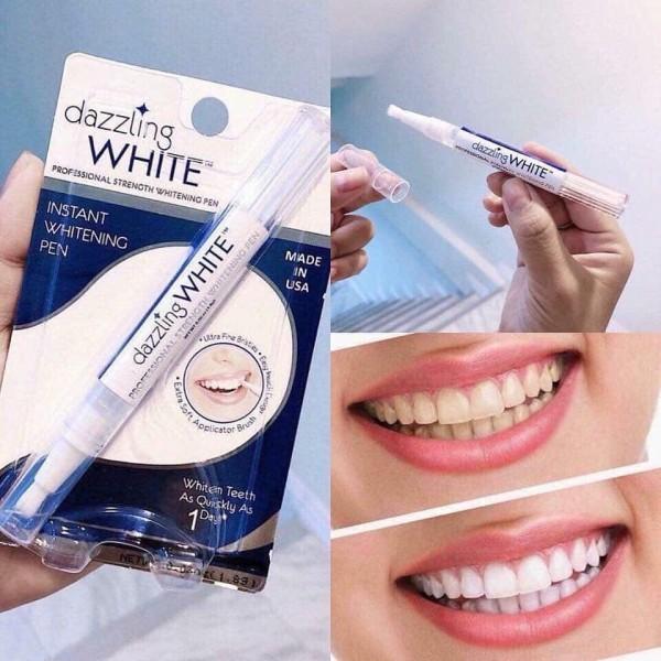 Bút tẩy trắng răng làm sạch vết ố vàng, giảm hôi miệng, nuôi dưỡng và tái tạo men răng