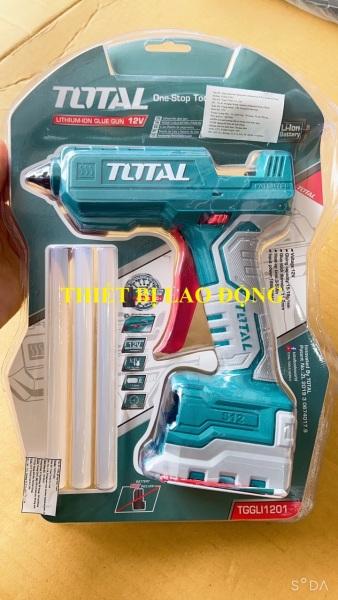 Súng bắn keo dùng pin Lithium-S12 Total TGGLI1201 (KHÔNG KÈM PIN VÀ SẠC)