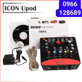 Sound Card ICON Upod Pro Hát Karaoke Livestream Online - Thu Âm Chuyên Nghiệp. thumbnail