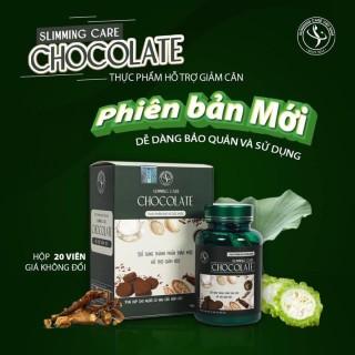 [Mẫu Mới] Viên Giảm Cân Slimming Care Chocolate Chính Hãng (hộp 20 viên) thumbnail