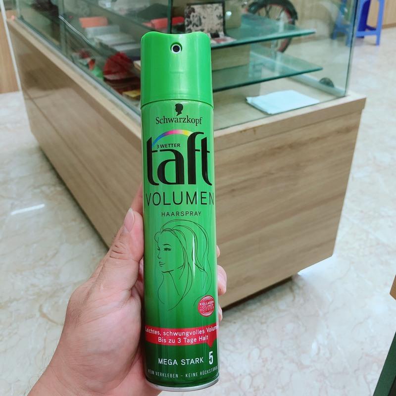 Xịt tóc tạo kiểu TAFT voulme, lọ 250ml giá rẻ