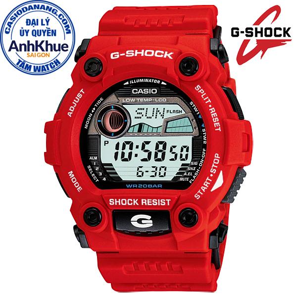 Đồng hồ nam dây nhựa Casio G-Shock chính hãng Anh Khuê G-7900A-4DR (50mm)