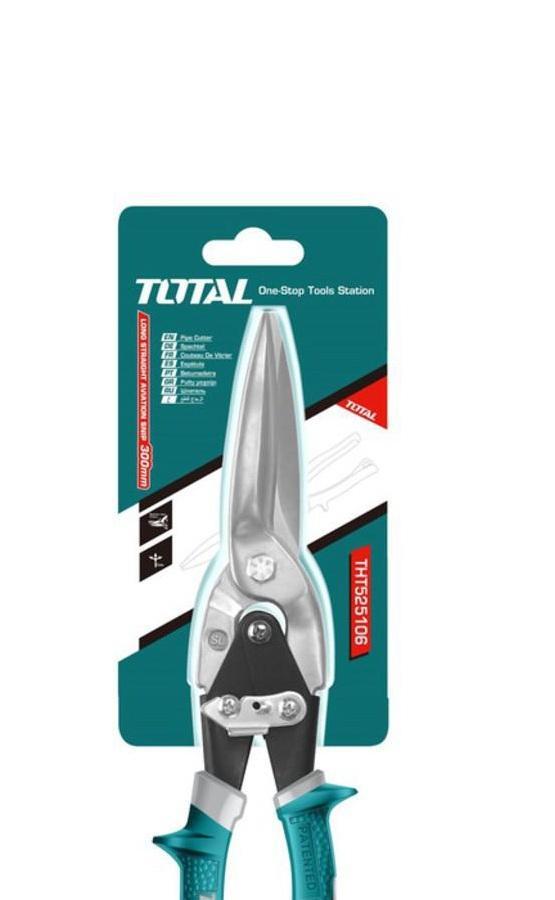Kéo cắt tole đầu thẳng dài TOTAL THT525106