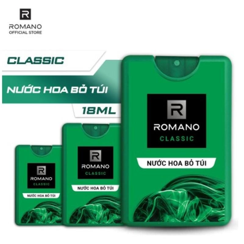 Nước Hoa Bỏ Túi Romano Classic (18ml)