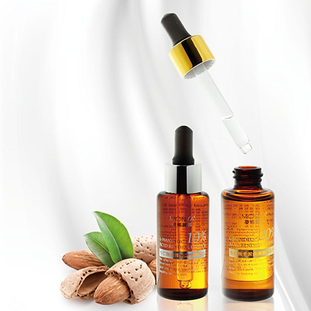 Tinh Dầu Hạnh Nhân Chăm Sóc Da Cao Cấp Monsa Almond Acid Soft Complexion Skin Essence 30ml nhập khẩu