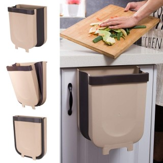 Thùng Rác Gấp Gọn Thông Minh Treo Cửa Tủ Nhà Bếp, Ô tô thumbnail