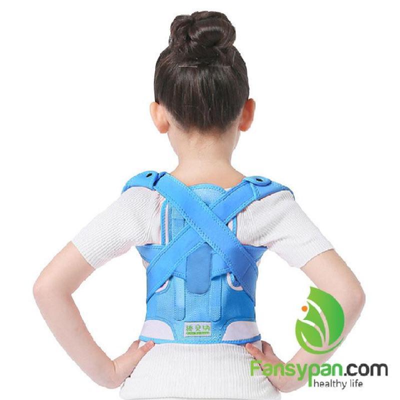 Đai chống gù lưng trẻ em, trị lưng tôm, cong vẹo cột sống tốt nhất