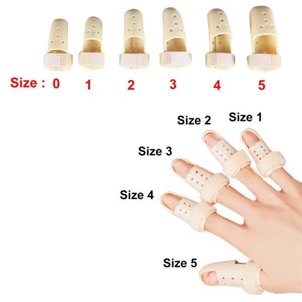 Nẹp nhựa Envysleep bảo vệ ngón tay gãy, sưng, trật khớp ngón tay, bộ 1 cái