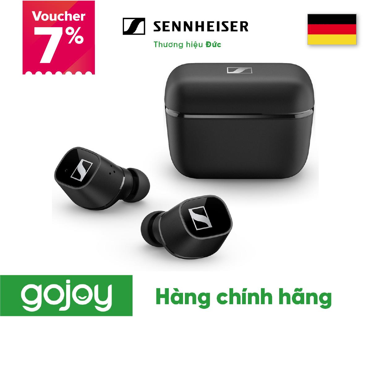[VOUCHER 7% TỐI ĐA 500K]Tai nghe True Wireless SENNHEISER CX 400BT Smart Control Bluetooth 5.1 Pin 20h - Bảo hành 24 tháng chính hãng