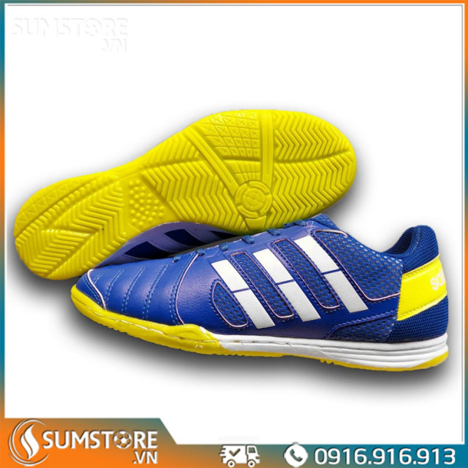 Giày Đế Bằng Đá Banh Futsal Winbro Sala Xanh Bích  - Giày Đá Bóng Mới 2021 (Tặng Kèm Vớ) giá rẻ