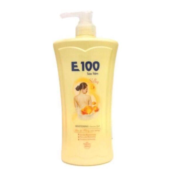 Sữa tắm E100 Silky - làn da trắng mịn màng - 800ml, cam kết sản phẩm đúng mô tả, chất lượng đảm bảo giá rẻ