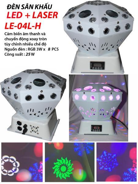 Đèn sân khấu Led + Laser LE-04L-H