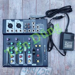 Bàn Mixer F7 MB dòng có Bluetooth bộ lọc âm thanh tiêu chuẩn được tặng zắc 6.5 thumbnail
