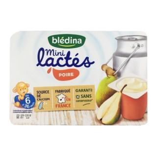 Sữa chua B ledina mini 6 55G vị lê 6M+ - Pháp date T10.2021 thumbnail