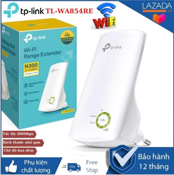 Kích sóng wifi TP-LINK TL-WA854RE , Tốc Độ 300Mbps ,Chế độ mở rộng sóng tăng cường tín hiệu , Chức năng điều khiển LED , Bộ khuếch đại wifi , kích wifi , bộ mở rộng sóng wifi , thu phát wifi , kích wifi tp-link , kích wifi giá rẻ