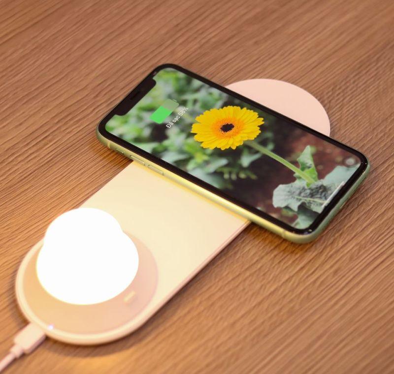 Đèn ngủ kiêm sạc không dây Xiaomi Yeelight   BH 15 NGÀY