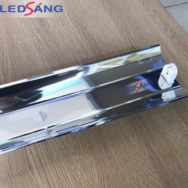 Máng đèn led 1.2m - Máng đèn led inox đơn 1.2m - Máng đèn led inox đôi 1.2m