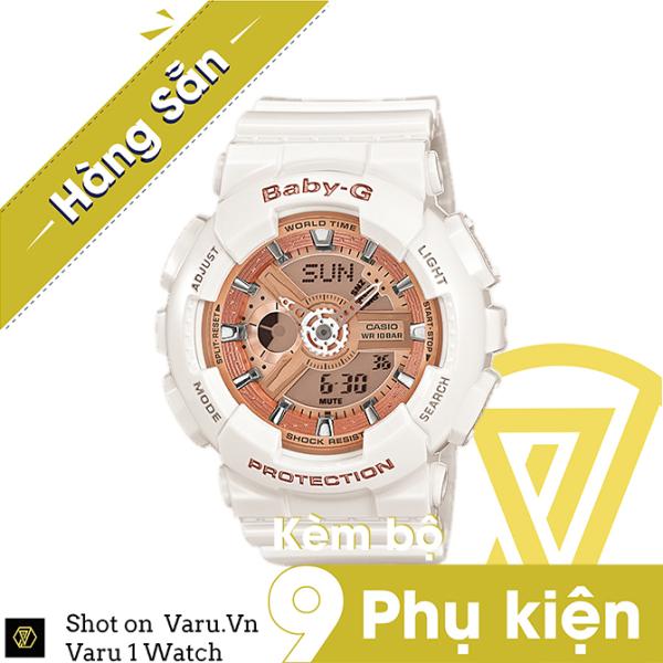 [Cao Cấp] Đồng hồ thể thao nam nữ G-Shock BA-110-7A1 Full phụ kiện bán chạy