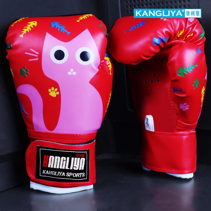 3-6 Trẻ Em Vị Thành Niên Găng Tay Đấm Bốc Con Gái Trẻ Em Boxing Găng Tay Trẻ Em Con Trai Chiến Đấu Luyện Tập Muay Thái Sanda Chiến Đấu