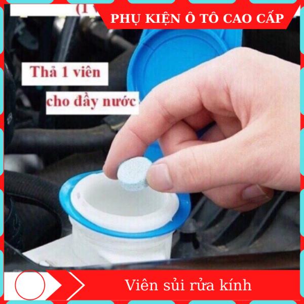 Viên sủi rửa kính ô tô [HÀNG LOẠI ] 1 viên sủi rửa kính rửa sạch mọi vết bẩn cứng đầu mà không gây nhờn rít, viên sủi, rửa kính, viên sủi rửa kính, rửa kính ô tô, viên sủi rửa kính ô tô