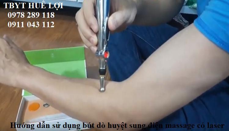 Bút xung điện có laze cao cấp