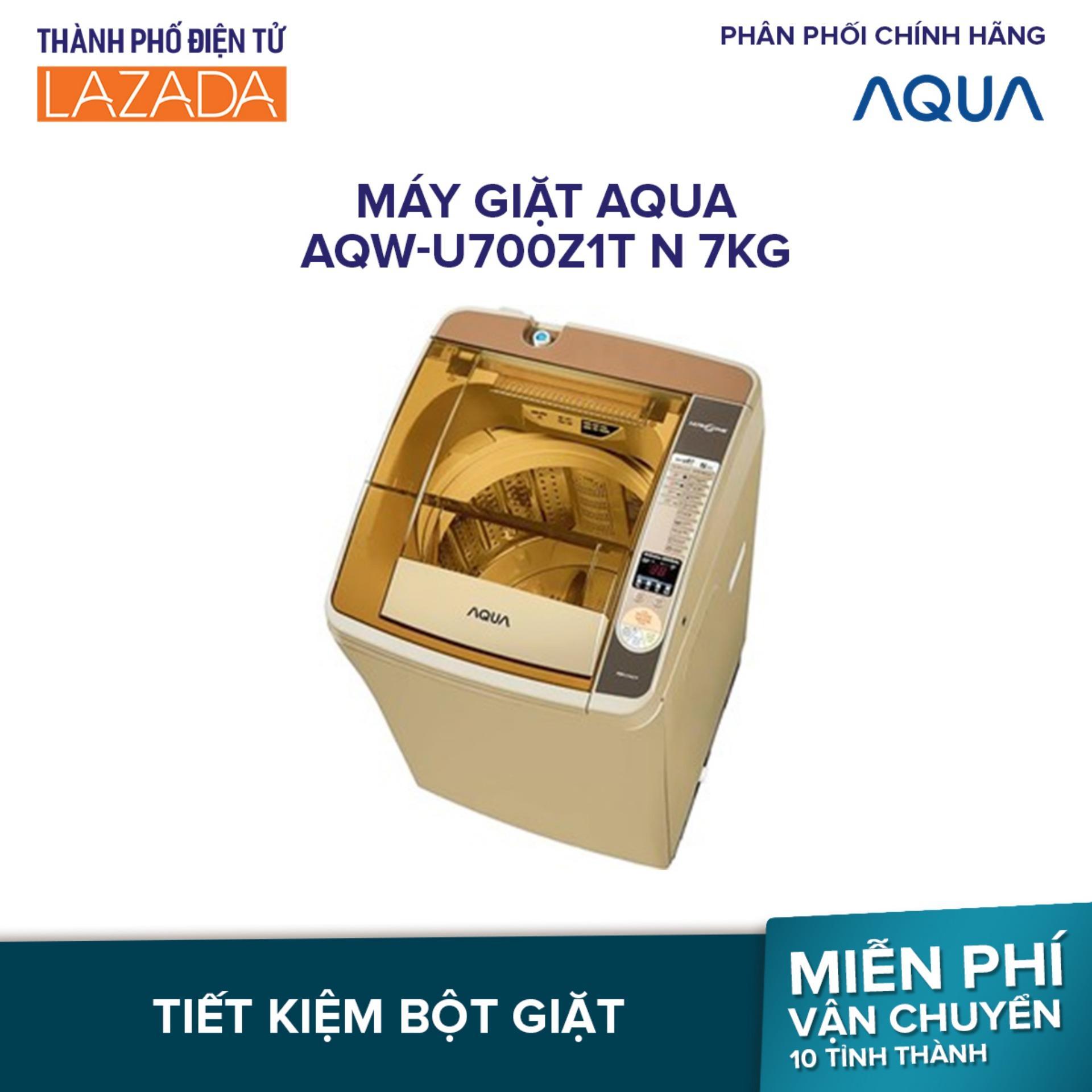Máy giặt AQUA AQW-U700Z1T N 7kg - Hàng phân phối chính hãng