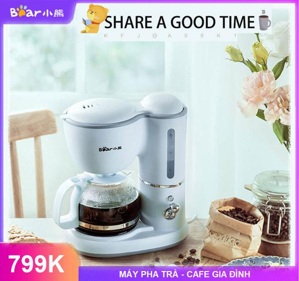 Bảng giá Máy pha cà phê gia đình, nhỏ giọt điều chỉnh nhiệt độ 600ml PP Nhật Bản - Máy Pha Trà Và Cà Phê Bear KFJ-A06K1(0,6L) Công Suất 550W - Pha 5 ly 1 lần Điện máy Pico