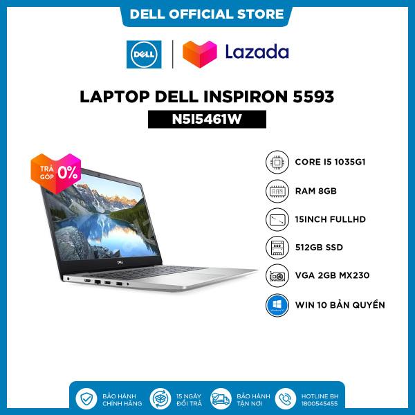 Bảng giá [VOUCHER 200K - Trả góp 0%] Laptop Dell Inspiron 5593  (N5I5513W) Core i5 1035G1   15.6inch FullHD   8GB   256GB SSD   VGA 2GB MX230    Win 10 Bản Quyền Phong Vũ