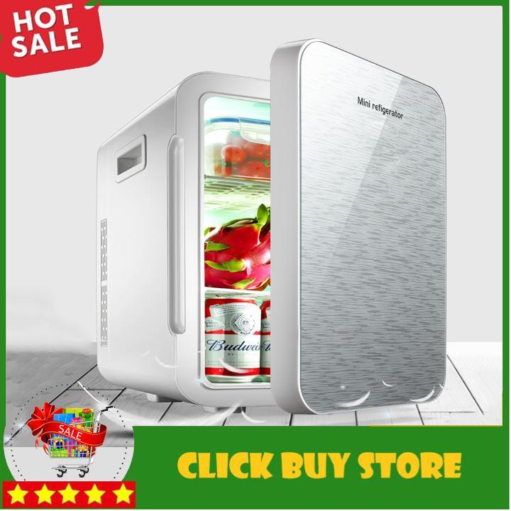 Tủ Lạnh Mini Trên Ô Tô và Trong Nhà 22 Lít Có Màn Hình Led