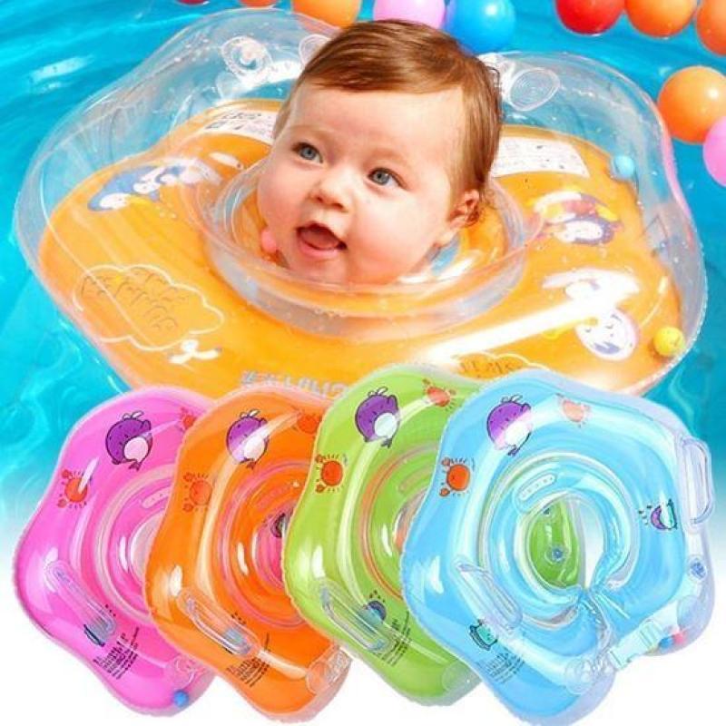 Phao nâng cổ cho bé giữ thăng bằng tập bơi từ 3-12 tháng tuổi