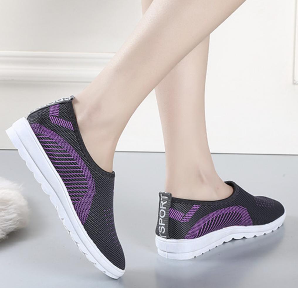 Offer Giảm Giá {GIÁ SIÊU SỐC CHO MÙA NÓNG} Giày Thể Thao Vải, Giày Phối Vải, Giày Sneaker Giày Lười Nam Nữ Siêu êm Chân Size 36-37-38-39-40-41 (Hàng Có 3 Màu)