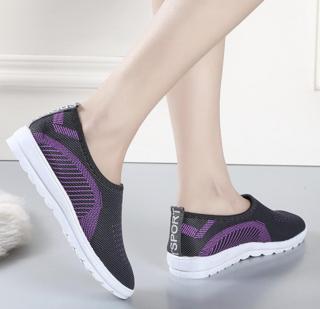 Giày lười Oxford HQ HOT 2019 053 3 màu (Xám-Hồng-Tím) thumbnail