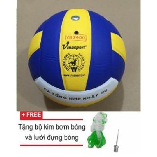 bóng chuyền da THĂNG LONG 7400 thumbnail