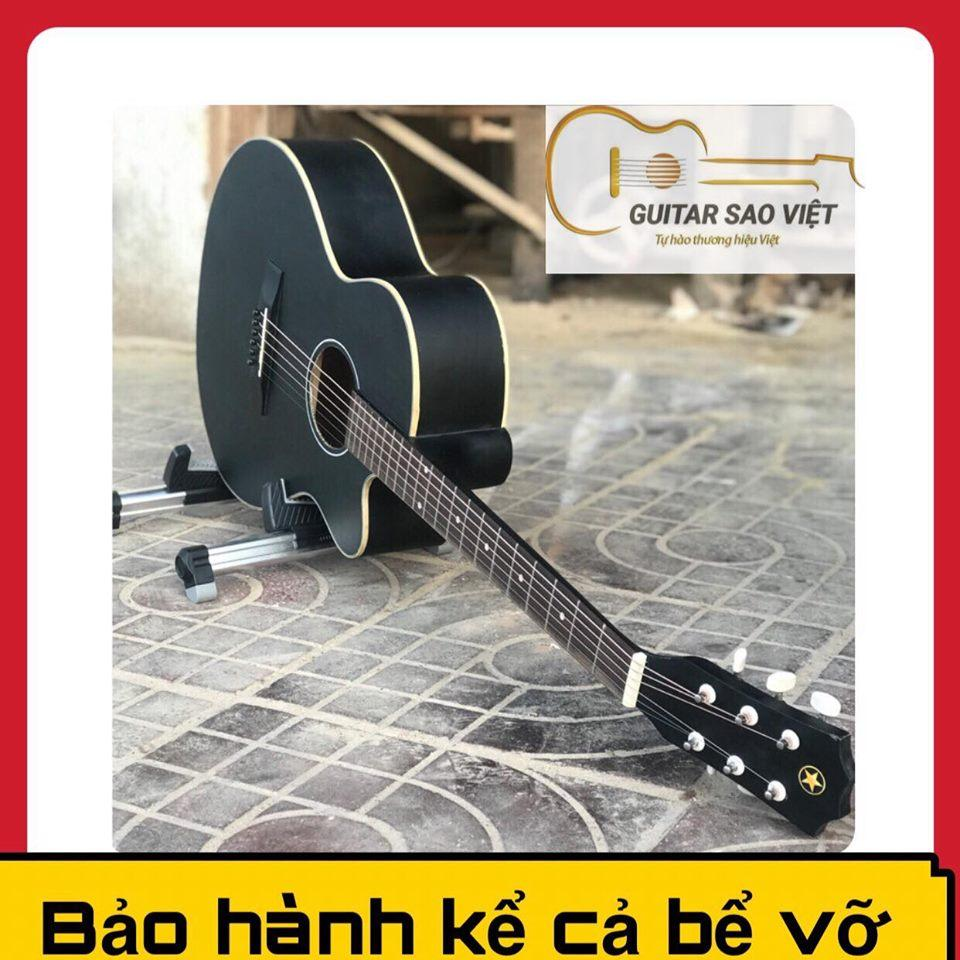 ĐÀN GUITAR CÓ TY,guitar acoustic E-75SV cho người mới tập chơi bảo hành 12 tháng
