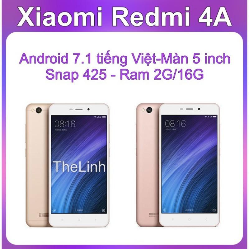 Điện thoại Xiaomi Redmi 4A 2 sim - Màn 5 inch pin tốt