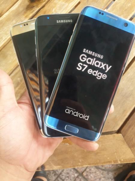 Điện Thoại Samsung S7 Edge Màn Hình Cong 2 Sim Ram 4GB - Bộ nhớ 32GB