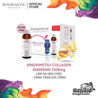 Nước Uống Kinohimitsu Đẹp Da J Pan Collagen Diamond 5300 Drink 50ml x 16 chai thumbnail