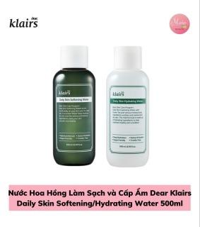 Nước Hoa Hồng Dear Klairs Daily Skin Softening Hydrating Water 500ml thumbnail