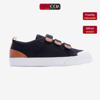Giày Sneaker Dincox Coxshoes Chính Hãng E01 Black, giày vải thể thao, giày Nữ Dincox, Giày thể thao đế bằng, giày độn chiều cao, giày vải, giày hottrend 2021, Giày đi chơi, giày chạy thể thao. thumbnail