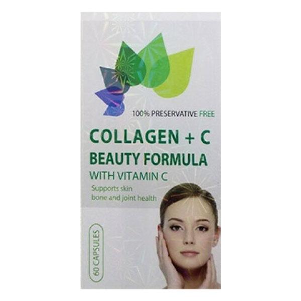 Collagen+C Beauty Formula - Hỗ trợ chống oxy hóa, giảm thâm nám, tàn nhang