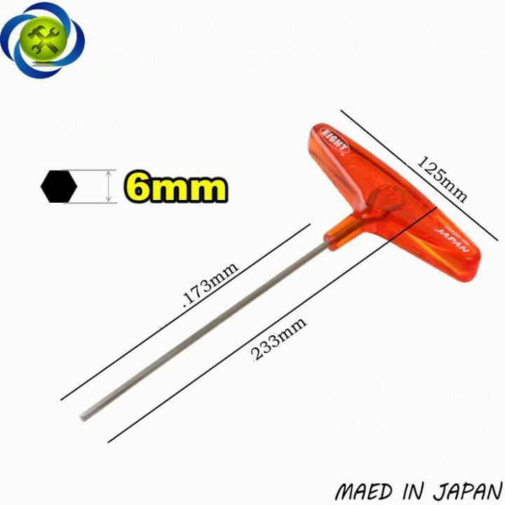 Lục giác chữ T EIGHT 018-6 6mm