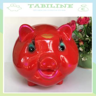 Lợn đất tiết kiệm đựng tiền size SIÊU TO cute đẹp giá rẻ TABILINE LD06 1
