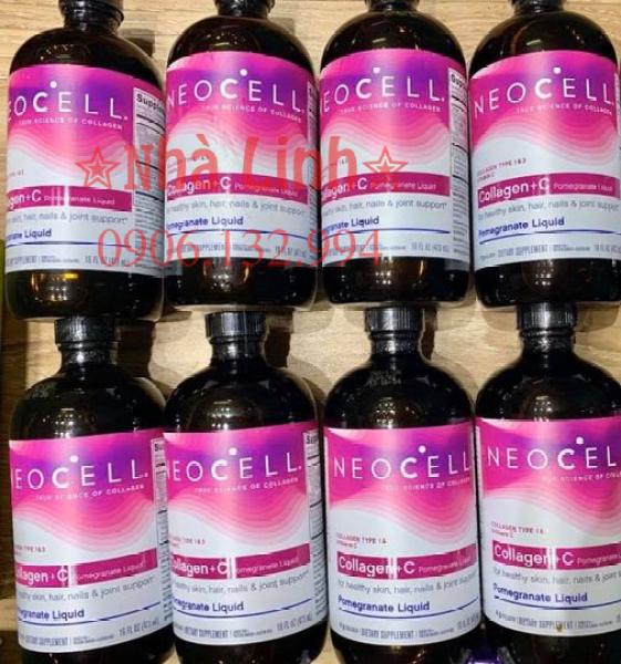 NƯỚC Collagen lựu NEOCELL Collagen+C 473ml giá rẻ